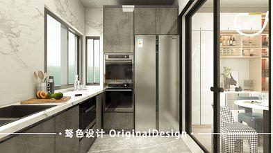 120平米现代简约风格厨房图