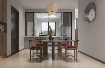 富裕型110平米复式新古典风格餐厅装修图片大全