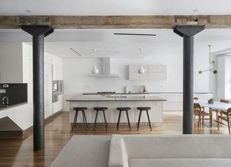 140平米公寓工业风风格厨房图