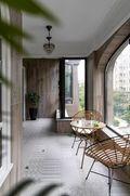 130平米四室一厅美式风格阳台设计图