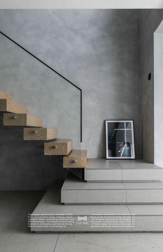 20万以上140平米四室两厅工业风风格楼梯间图