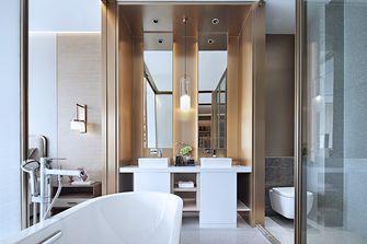 130平米三室一厅中式风格卫生间装修案例