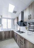 120平米三室一厅日式风格厨房设计图