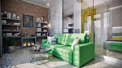 80平米公寓工业风风格客厅装修图片大全