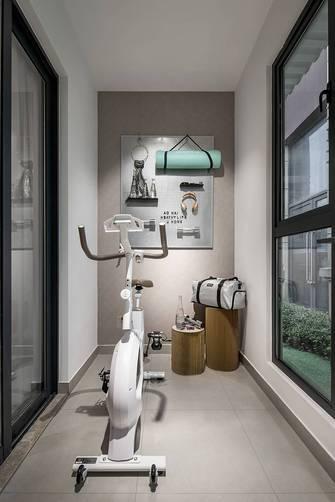 10-15万130平米四室两厅现代简约风格阳台欣赏图