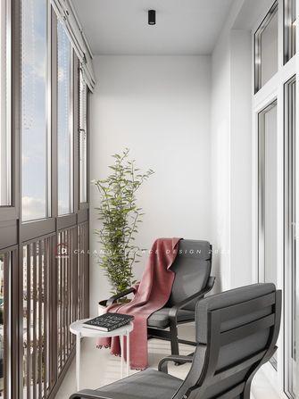 15-20万120平米三室两厅新古典风格阳台装修效果图