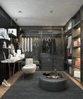 10-15万110平米三室三厅现代简约风格衣帽间图