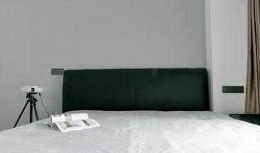 富裕型100平米三室一厅现代简约风格卧室图片