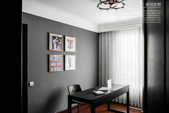 豪华型140平米三室两厅美式风格书房图片