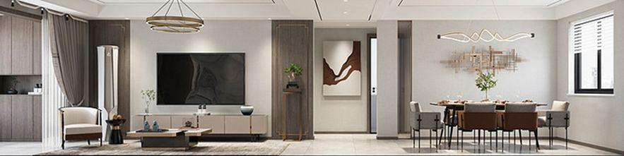 富裕型120平米三中式风格客厅装修案例