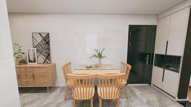 经济型60平米一室一厅美式风格餐厅效果图