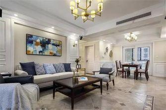 经济型90平米三室两厅美式风格客厅欣赏图