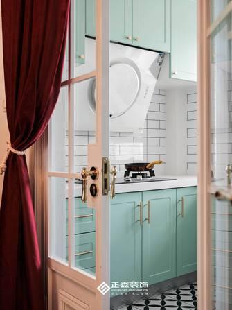 经济型110平米三室两厅法式风格厨房装修效果图