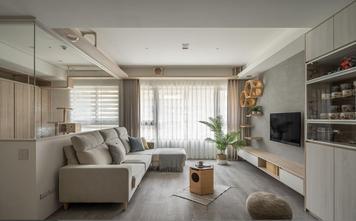 富裕型80平米三室两厅欧式风格客厅欣赏图