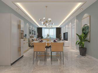 富裕型140平米三室两厅北欧风格餐厅图
