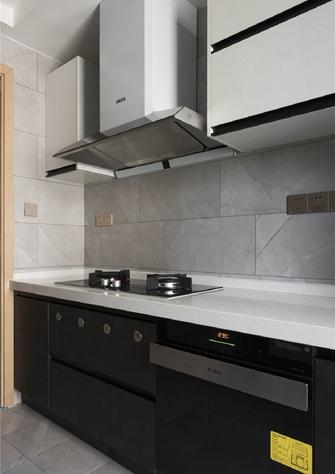 80平米一室一厅中式风格厨房图