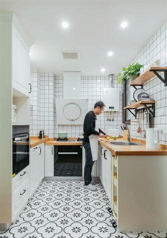 130平米三室一厅北欧风格厨房图片