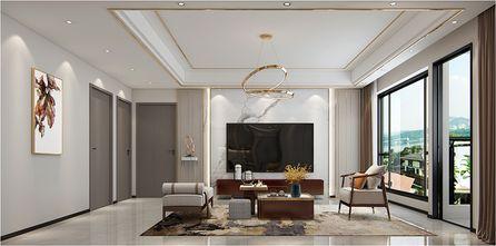 豪华型130平米四室两厅轻奢风格客厅装修案例