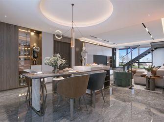 20万以上140平米复式轻奢风格餐厅图