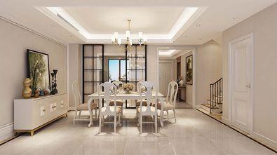 20万以上140平米三室三厅美式风格餐厅图