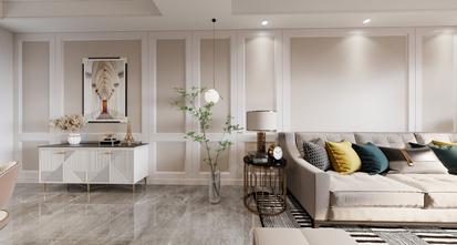 豪华型140平米复式美式风格客厅设计图