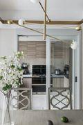 富裕型140平米四室一厅混搭风格厨房装修案例