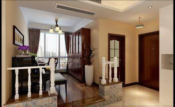 经济型100平米三室一厅美式风格书房图片大全