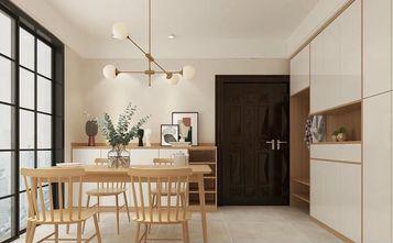 90平米三室三厅日式风格餐厅图片