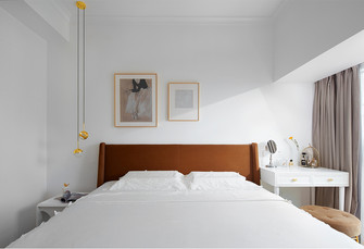 富裕型90平米三室两厅美式风格卧室设计图