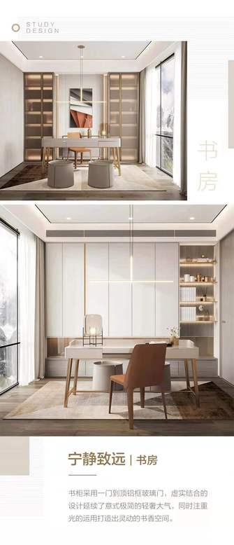 140平米四室两厅轻奢风格书房装修案例