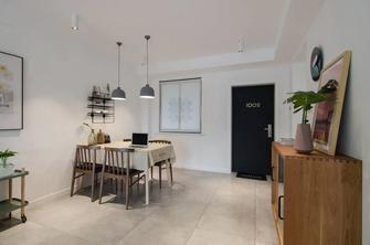 经济型60平米公寓现代简约风格餐厅图片