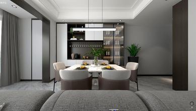 110平米四室两厅现代简约风格餐厅图片