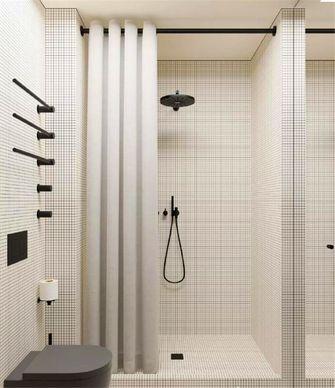 富裕型60平米一室两厅现代简约风格卫生间装修案例