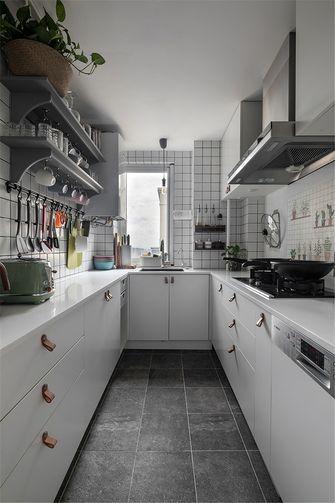 富裕型80平米欧式风格厨房图