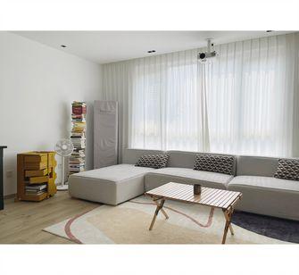 豪华型120平米三室一厅混搭风格客厅图