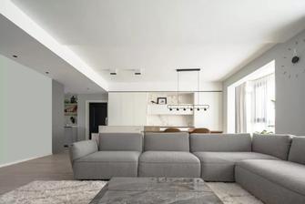 富裕型130平米四室一厅轻奢风格客厅装修效果图