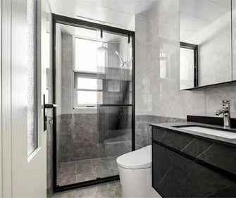 经济型110平米三室两厅轻奢风格卫生间装修图片大全