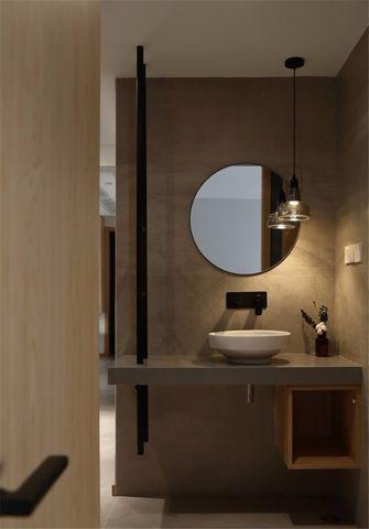 富裕型130平米三室一厅北欧风格卫生间图