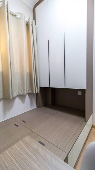 80平米三室两厅现代简约风格书房装修图片大全