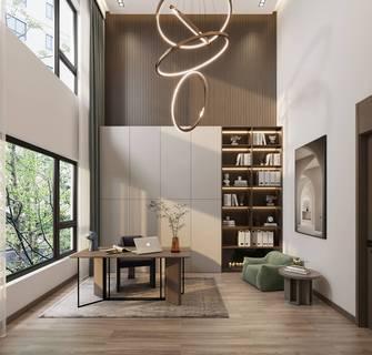 20万以上140平米三现代简约风格书房图片大全
