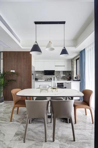 豪华型140平米四室一厅现代简约风格餐厅图