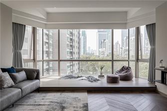 豪华型130平米三室两厅轻奢风格阳台图片大全