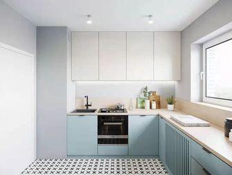 经济型80平米公寓现代简约风格厨房图
