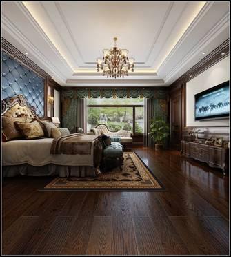 140平米四室四厅美式风格卧室装修案例