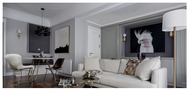 经济型80平米三欧式风格客厅效果图