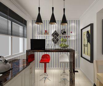 富裕型100平米三室两厅现代简约风格书房装修效果图