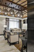 3万以下110平米三室一厅东南亚风格客厅设计图