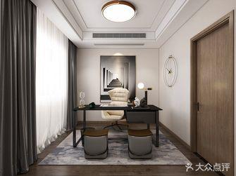 20万以上120平米三室两厅现代简约风格书房效果图