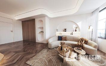5-10万40平米小户型公装风格客厅效果图