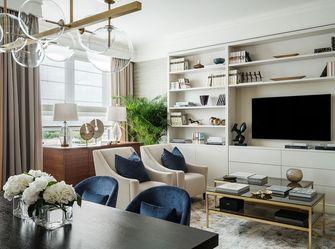 豪华型90平米三现代简约风格客厅装修效果图